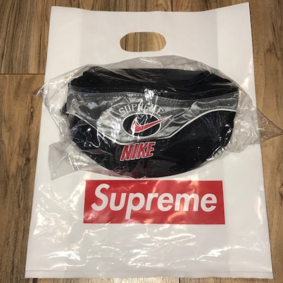 Nike Other - NEW SS19 Supreme X Nike Shoulder Bag SILVER NEW